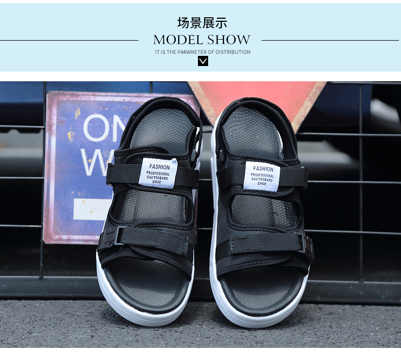 YRRFUOT Summer Big Size Fashion Men's Sandals Outdoor Hot Sale Trend Man Beach Shoes High Quality Non-slip Adult Flats Shoes 46 38 Online shopping Bangladesh