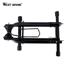 WEST BIKING Folding L Double Rod Bicycle Parking Racks MTB Bike Display Repair Stand Cycling Racks Maintenance Supporting Frame(China)