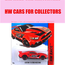 Hot 1:64 Cars wheels Red Mustang Metal Alloy Model For Colecter Wholesale Metal Cars For Car Lovers(China)