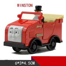 Thomas and Friends -Diecast Metal Train WINSTON Megnetic Train Toy Tank Engine Toy For Children Kids Christmas Gifts(China)