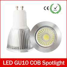 Super Bright GU 10 Bulbs Light Dimmable Led Warm/White 85-265V 6W 9W 12W GU10 COB LED lamp light GU10 led Spotlight zk40