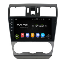 9 inch Screen Android 5.1 Car DVD Player GPS Navigation System Auto Radio Media Stereo for Subaru Forester 2014 2015 2016(China)