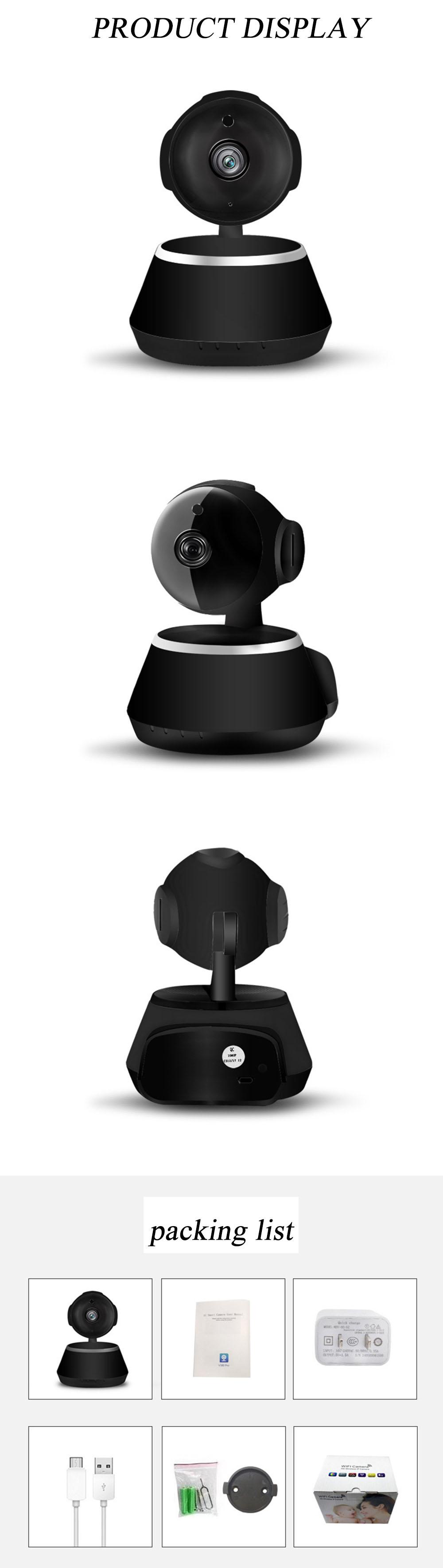 IP Camera Wifi 1080P Security Camera 720P Mini IP Camera Home CCTV Cameras P2P Two Way Audio Motion Detection IR-CUT  (15)