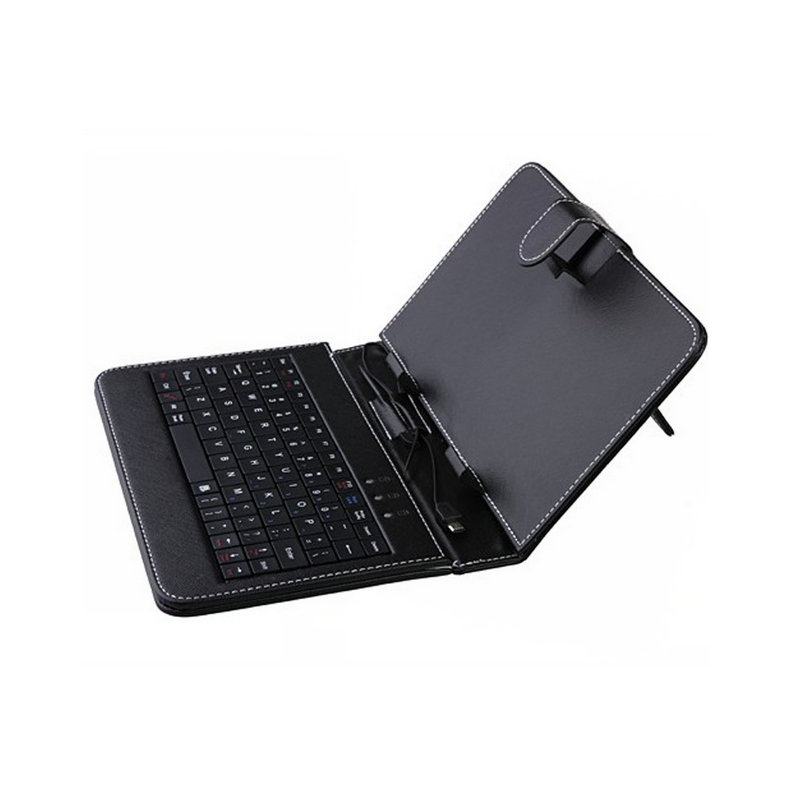 Tablet case 10.1 inch Russian Keyboard Leather Cover Micro Mini Connection with USB Keyboard For 10.1 Tablet PC+ OTG<br><br>Aliexpress