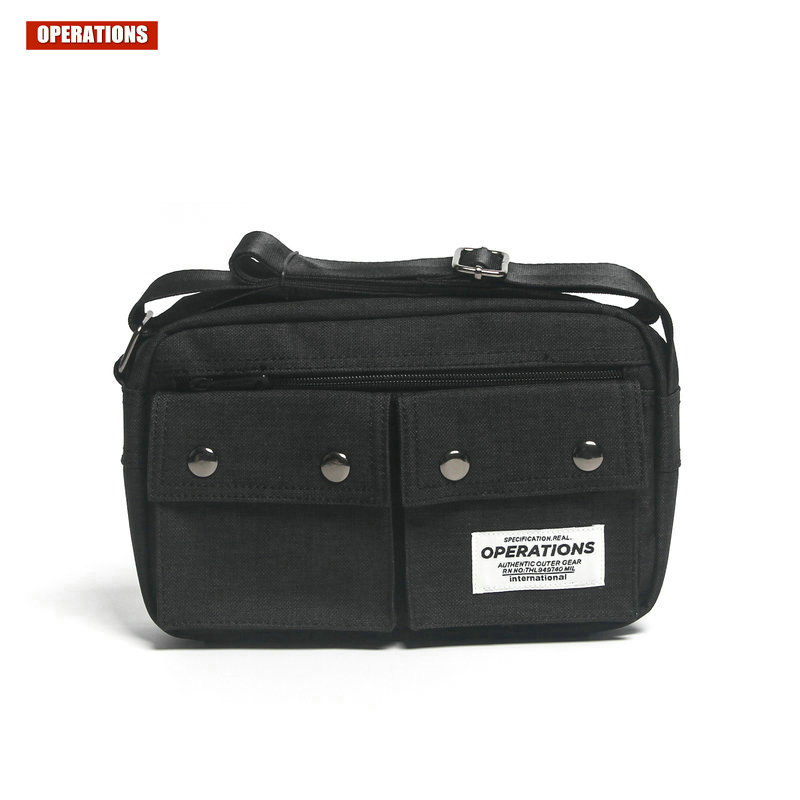 OPERATIONS Fashion Shoulder Bag New Messenger Bag High Quality Small Convenience Package Young People Leisure Messenger Bag<br>