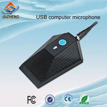 SIZHENG high quality professional USB computer video conference microphone plug and play SKYPE low noise mic