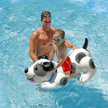 INTEX Doggie Inflatable Pool Toys Funny Floats Air Mattress Children Pump Included Swimming Pool Accessories(China)