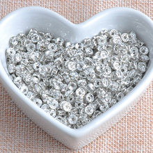 13 colors AAA white Color Crystal Rhinestone Rondelle Spacer Beads Jewelry Handmade 200Pcs 6mm SG006M