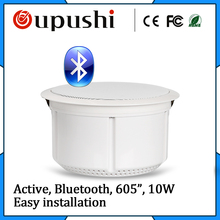 Active wireless loudspeaker built power supply,In-ceiling stereo speaker,home theater bluetooth ceiling speaker aux-in - oupushi Store store