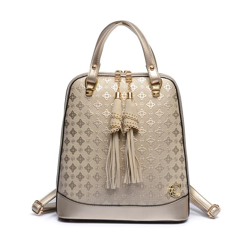 Women Backpack Tassel Travel Backpacks for Teenage Girls Mochila 2017 School Bags Preppy Style Leather Backpack Free Shipping<br><br>Aliexpress