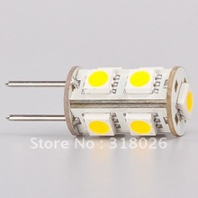 Free Shipment 9 SMD LED GY6.35 Lamp 5050 DC 12V Commercial Engineering Indoor White 180-198LM
