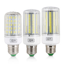 LED Corn Bulb E27 SMD 5730 7W 12W 15W 20W 25W 30W 45W Home Decoration Lamp for Chandelier Spotlight 30 42 64 80 89 136 165LEDs(China)