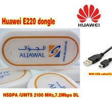 UNLOCKED HUAWEI E220 3G HSDPA USB MODEM 7.2Mbps wireless support Android tablet Pc