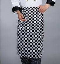 Freeshipping Waist apron Half body aprons waitress waiter restaurant bar kitchen Chef Household Cleaning Cooking Apron Tools