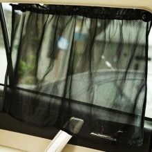 2 pcs/set Car Styling Blind Car Sun Shade Window UV Protection Mesh Fabric With Suction Cup Size:52*70CM(China)