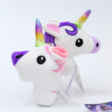 Baby Souvenirs Unicorn Party Decoration Plush Keychain Pendant Wedding Gifts for Guests Bridesmaid Gift Party Favors Present(China)