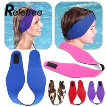 Relefree Adjustable Women Men Bathing Swimming Ear Band Headband Protector Sport Adult Kids Water Swim Head Band Neoprene(China)