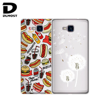 Soft Case For Huawei Honor 5C Clear White Silicone Phone Cases Cover For Huawei Honor 5c No Fingerprint Hole Version For RU