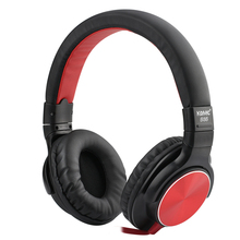 Original Over head Mobile Headphones Wired Protable 3D Heavy bass Headset with Mic For Phone PC MP3 Wholesale(China)