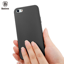 Baseus Luxury Cases For iPhone 5 5s se Ultra Thin Slim Capinhas For iPhone5 5 s se PC Back Cover Protective Shell Coque Fundas