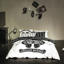 Bedding set 100% cotton Brand Duvet cover flat sheet pillowcase bedclothes bed quilt cover High Quality queen size