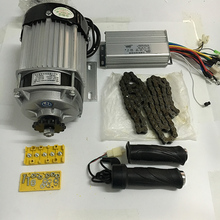 750W DC 48V 60V Brushless Motor,BM1418ZXF, electric bicycle Motorcycle Electric kit Motorcycle Motor wIth Controller Chain(China)