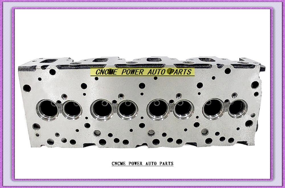 4JA1 2.5L Bare Cylinder Head 8-94125-352-6 8-94431-520-4 (3)