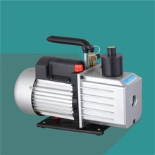 Double Stage Rotary Vane Vacuum Air Pump 110V 60HZ 5CFM For Cars With CE Certificate