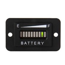 48V Battery Indicator Meter Gauge Charge Discharge Tester LED Battery Status Charge Indicator Monitor Meter Gauge(China)
