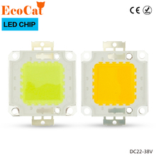 High Power Epistar COB LED Chip 10W 20W 30W 50W 100W DC 24V-38V Integrated SMD For Floodlight Spotlight Warm White /White