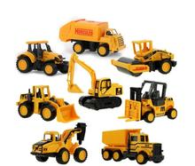 Christmas Gift Diecast Mini Alloy Construction Vehicle Engineering Car Dump-car Dump Truck Model Classic Toy 72217566(China)