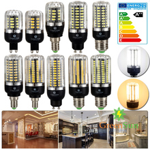 High Lumens 5736 SMD LED Corn Bulb Light E14 E27 G9 GU10 3W 5W 7W 9W 12W 15W LED Spot Light Lamp 220V Energy Saving