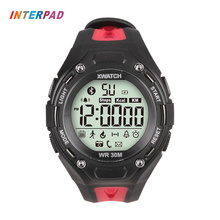 Interpad IP68 Professional Waterproof Digital Smart Watch Clock Outdoor Sport Bluetooth Smartwatch For Windows Android IOS Phone
