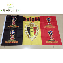 2018 Russia Football World Cup Belgium National Team 3ft*5ft (90*150cm) Size Decoration Flag Banner
