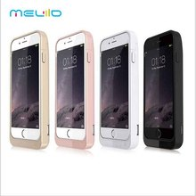 Meliid 4200mAh Extended Rechargeable Battery Case Power Bank Cover Portable Charger Battery Pack for iPhone 5 5S SE 5C