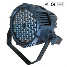 Free shipping THD 54*3W LED waterproof par IP 65 wash outdoor effect stage light for show conert DJ disco party flood light