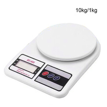Plastic Balance Weight Portable Fishing Electronic Digital Weighing Kitchen Scale Cooking Food 10KG Precision 1g Tools Products(China)