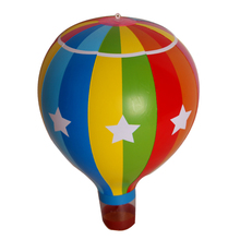 3 Pieces/set Simulated Hot Air Balloon Inflatable Blow Ups Kids Fun Toys Birthday Party Decorations Inflated Hang Up Home Decors(China)