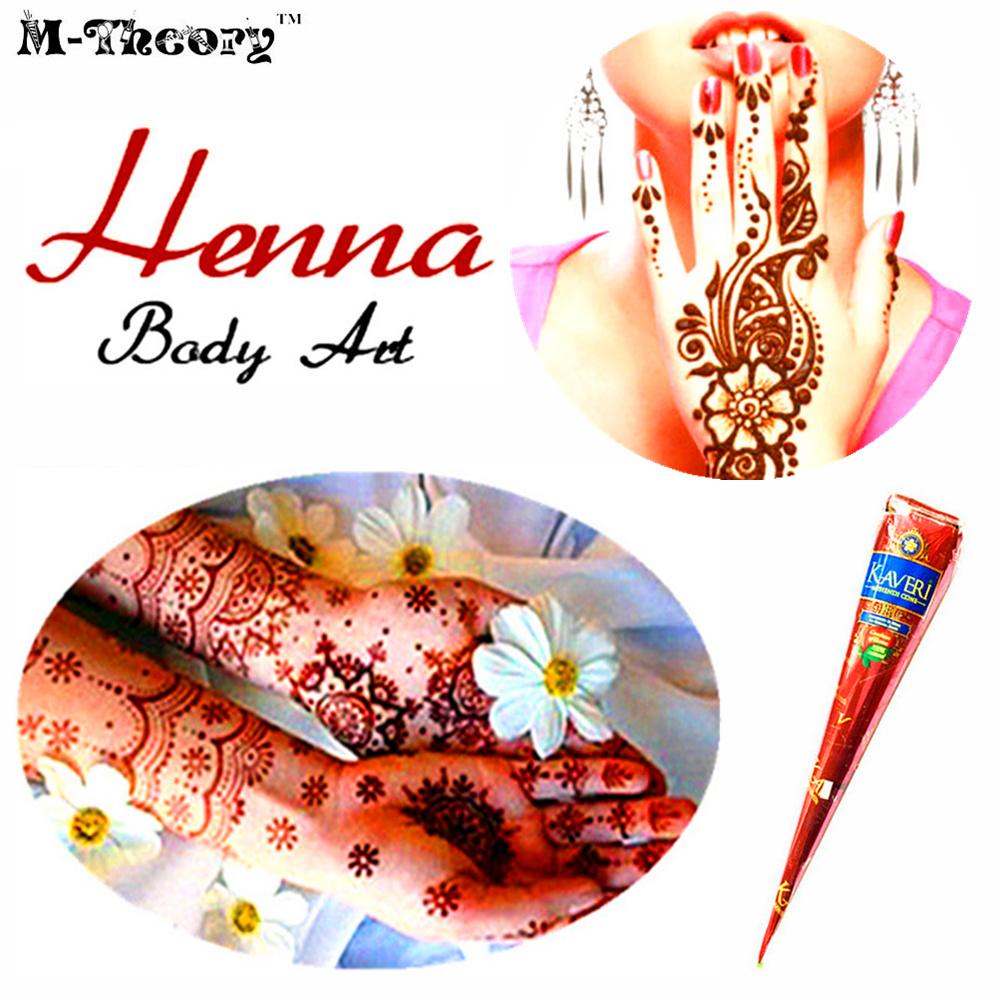 mteora mehndi impermeable pintura corporal g cuerpo tatuajes temporales de henna mehndi artes flash