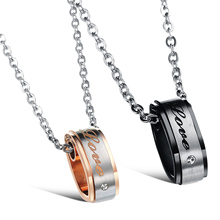 Charmy Romantic Specials Europe / Korea Fashion Jewelry Pendant Necklace Couple Decorated Gift CA558(China)
