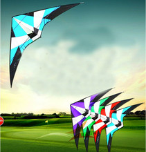 Free Shipping high quality 1.8m Power Professional Dual Line Stunt Kite With Handle Line storm kite Factory albatross kite