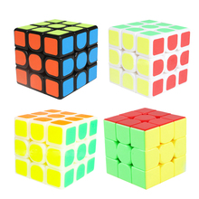 Colorful 3x3x3 Three Layers Cube Puzzle Toy magic cube 3x3x3 Profissional Competition Speed Neo Stickers Cube Toys For Children