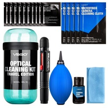 VSGO 20 in 1 Professional Camera Cleaning Kit Pro Set for Canon Nikon Sony SLR DSLR Digital Camera Lens LCD Screens(China)