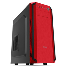 Computer Case SAMA war wolf in tower chassis China Red USB3.0 support ATX motherboard, SSD, back line(China)