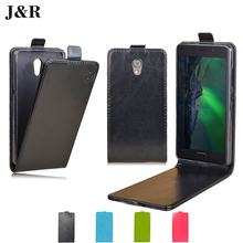 Flip Leather Case For Lenovo P2 Fashion PU Cover For Lenovo P2 (5.5inch) Vertical Magnetic Mobile Phone Bag & Case J&R