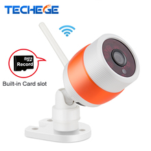 Techege 720P WIFI IP Camera HD Network MINI wifi camera 3.6MM lens Night Vision P2P Outdoor /Indoor CCTV Camera Motion Detection