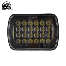 5X7 7X6 INCH  Rectangular led headlight 7 inch 72w sealed beam led with DRL for GMC C1500 C2500 Pontiac Safari Mazda B2200