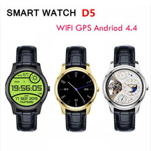 Original Waterfroof Circle 3G Android Phone Smart Watch X1 1.3inch IPS Android 4.4 IOS with GPS WIFI SIM Heart Rate 4G ROM