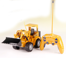 RC Car 2.4G 1/24 RC Excavator 5 Channels Charging RC Car Model Toys for Children Grabbing Machine Auto Remote Control Truck Toys
