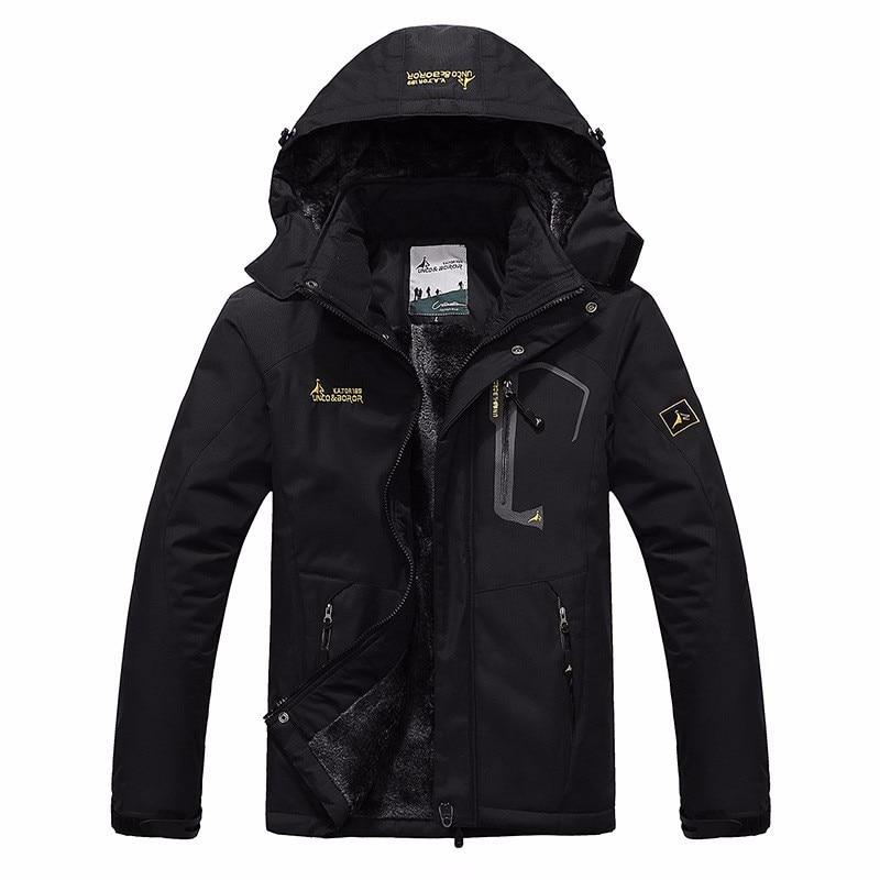 autumn winter Plus velvet thickening jacket Mens woman jacket waterproof windproof mens casual warm coat jacket size L-5XL 6XLОдежда и ак�е��уары<br><br><br>Aliexpress